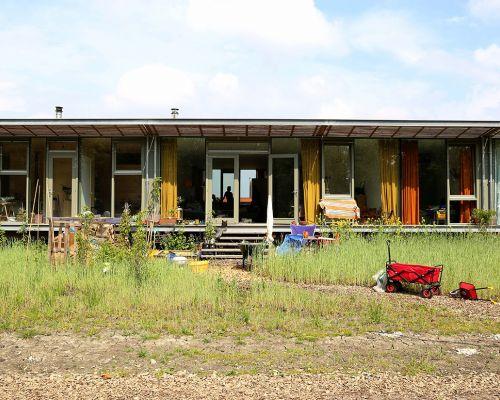 De wijk Oosterwold bij Almere